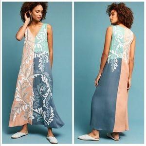 Anthropologie Colorblock Dress by Geisha Designs